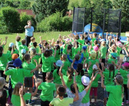 Sporttag und Jubiläum des Fördervereins
