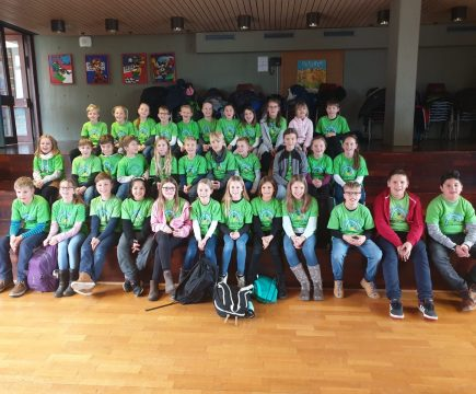 Besuch der Viertklässler in der Sonnenbergschule