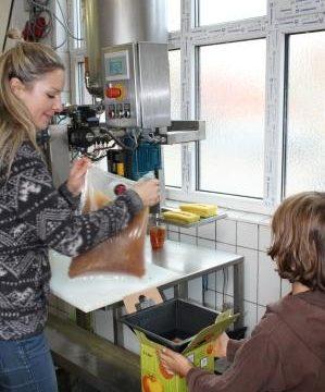 Apfelsaft pressen in Dagersheim