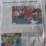 Artikel in der Böblinger Kreiszeitung