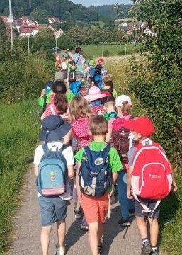 Wandertag der Klassen 2a und 2b